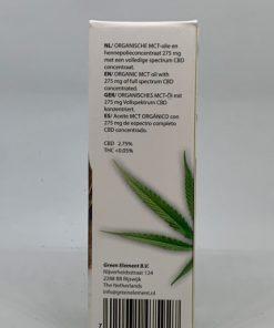 Ingredients CBD oil